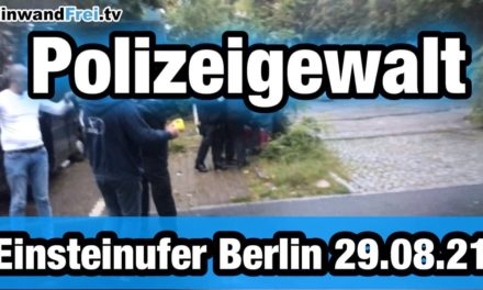 🔷 POLIZEIGEWALT 🔷 EINSTEINUFER BERLIN #b2908 – Kaffeetrinken endete mit Handschellen /TEIL 1